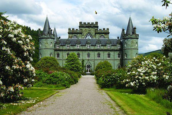 Www.inveraray Castle on Castle Interiors