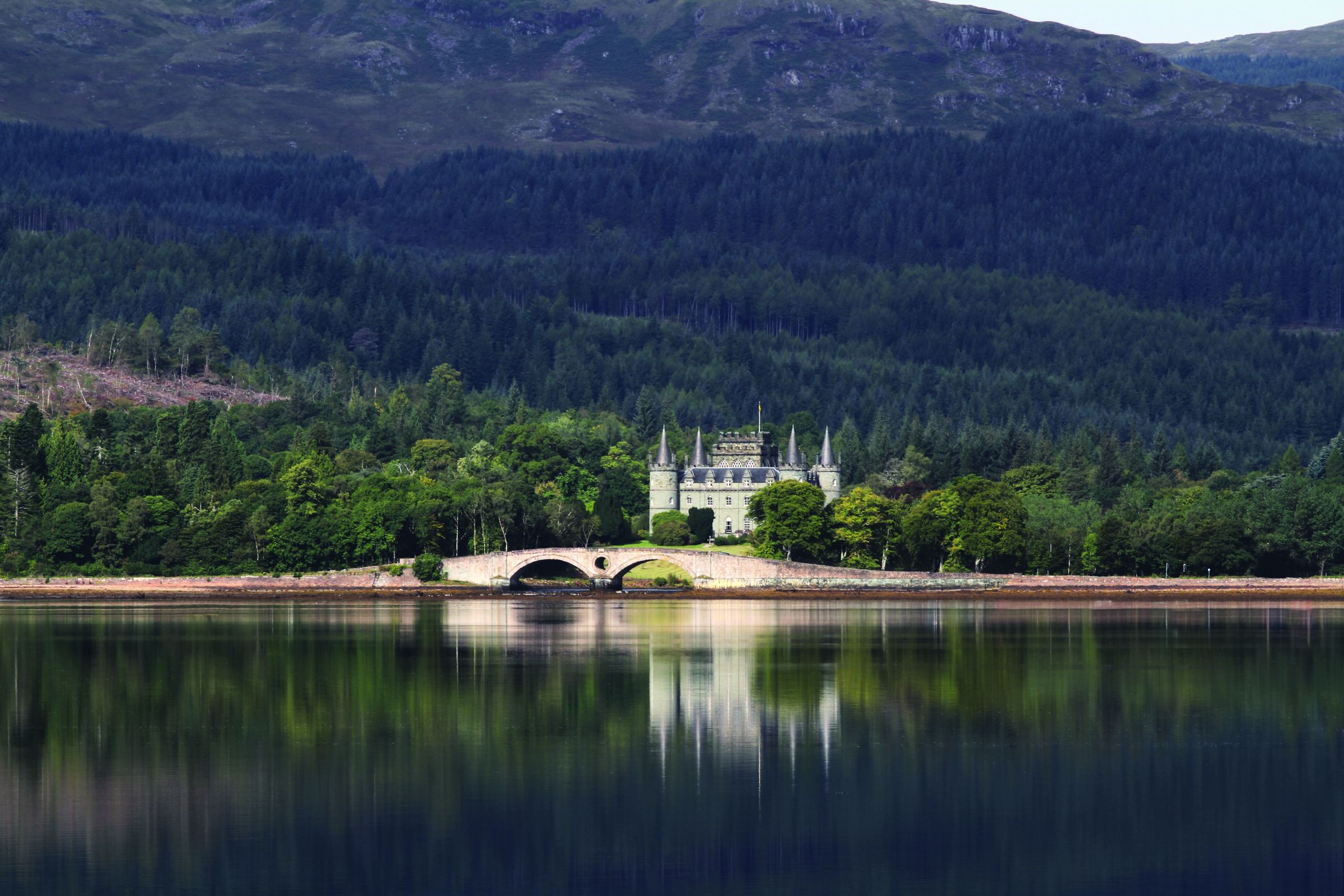 Inveraray Castle By Nick Hugh McCann