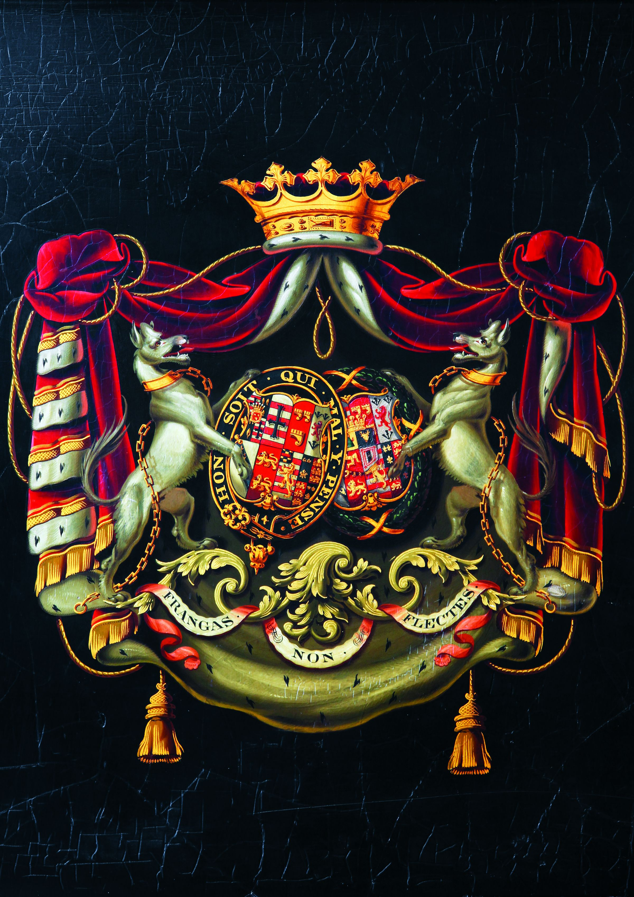 Victorian Room Coat Of Arms BOOK VERSION